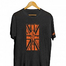 BRITISH FLAG RUNNING MAN T-SHIRT
