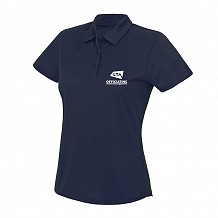 Ladies Navy Polo - Officiating