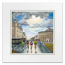 Lucy Pittaway 2019 UCI Road World Championships Mounted Print